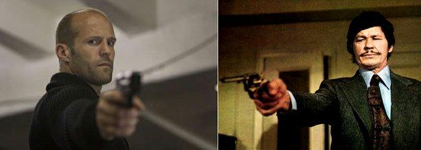 Dos asesinos muy diferentes pero con algo en común; tienen pinta de ir a dos botellas de Brummel por semana.