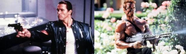 Arnie de cuero mata fino, Arnie sucio mata normal, dos Arnies a elegir...
