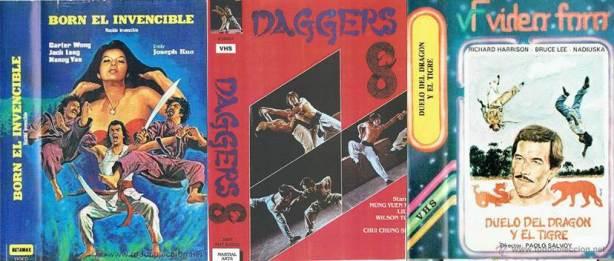 """""""Nace una escuela de artes marciales un muchacho que poco a poco consigue llegar a su meta deseada que es la de ser uno de los grandes maestros de este género. Las situaciones por los cuales tiene que pasar son audaces y atrevidas, ya que, contra el luchan los mejores hombres de oriente."""" Sinopsis REAL del VHS de """"Born, el invencible"""""""